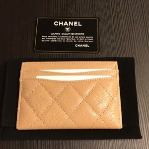 CHANEL Accessories - Chanel cardholder